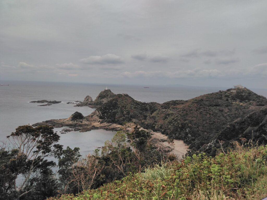 (鹿児島佐多岬にて 到着:2018年10月11日 PM2:26)