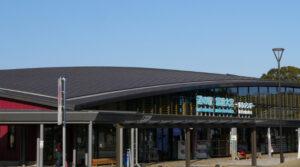 道の駅常盤大宮の建物