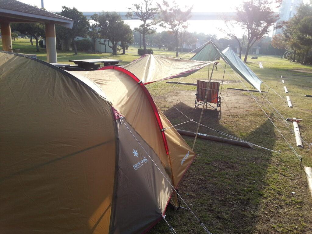 若洲キャンプ場
