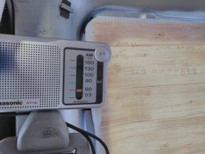 ピラーにラジオをくっつける