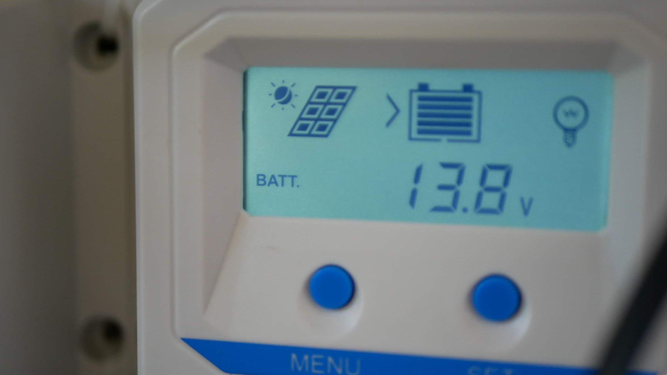 自然エネルギーのソーラーで電気を確保