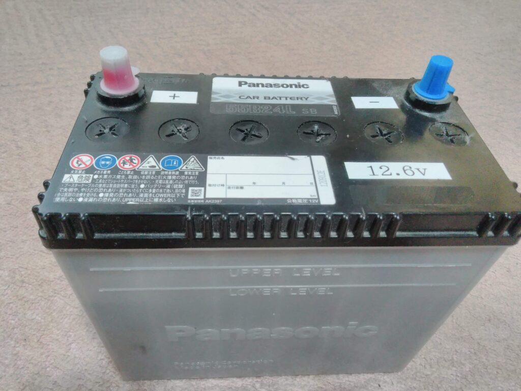 スターターバッテリー 開放型