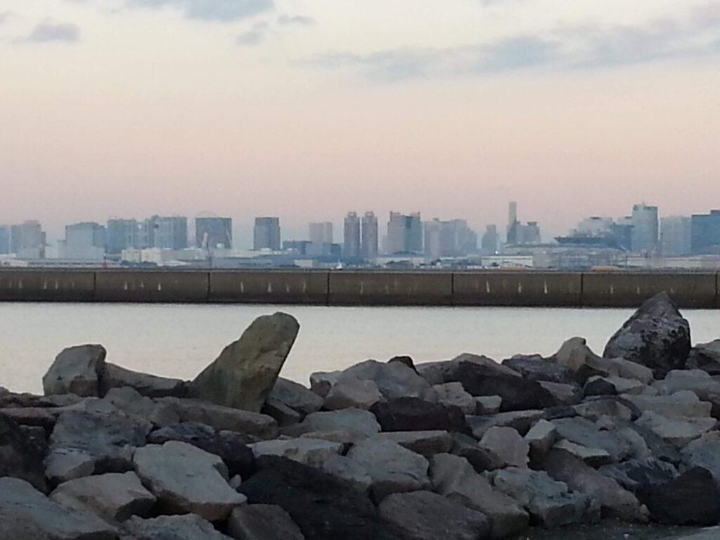 東京湾の早朝を旅する