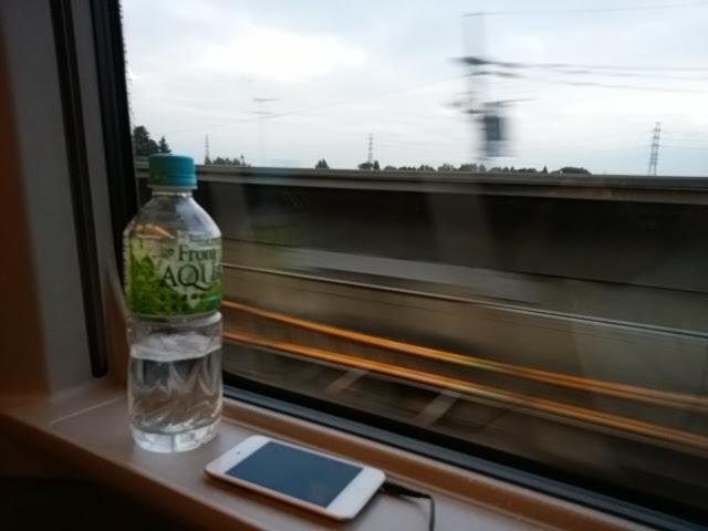 何もしない旅もいいものです。金沢まで景色を見るだけ・・・